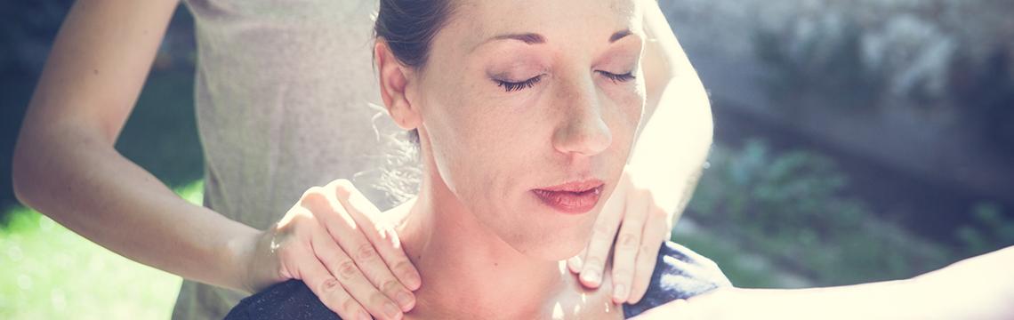Massage Amma Assis. Libération des tensions et du stress.
