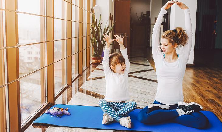 yoga, enfant, naturopathie